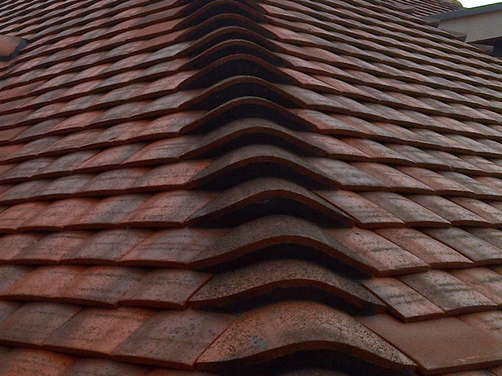 Burgundy Sandfaced Bonnets available from Tilemongers who are Tile Specialist.